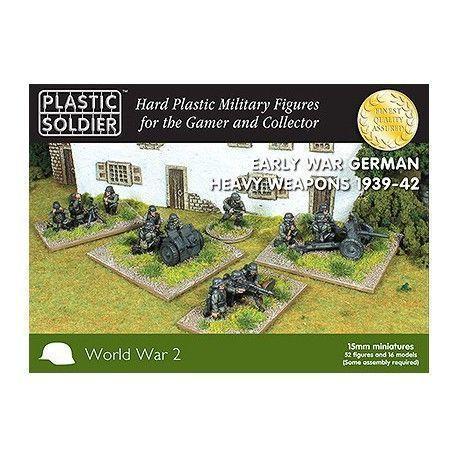 15MM EARLY WAR GERMAN HEAVY WEAPONS 1939-42