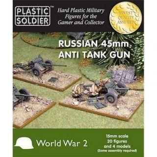 15MM RUSSIAN 45MM ANTI TANK GUN