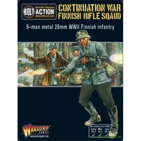 FINNISH INFANTRY BOXED SET (9MAN)