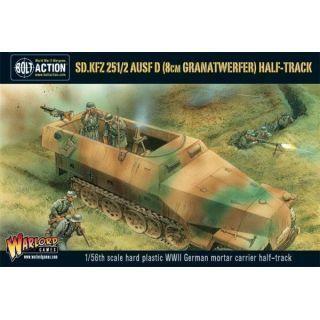 SD. KFZ 251/2 AUSF D (8CM GRANATWEFER) HALF TRACK