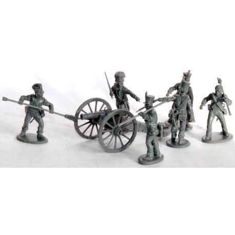 28mm French Napoleonic Artillery 1812 to 1815