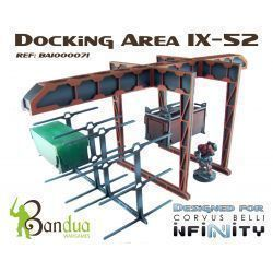 Docking Area IX-52 scenery scifi 32mm