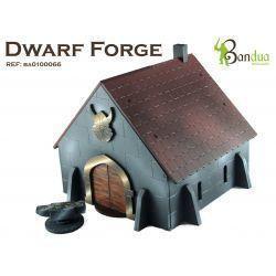 Dwarf Forge Escenografía 28 mm ( AoS , Saga , Historical Wargames)