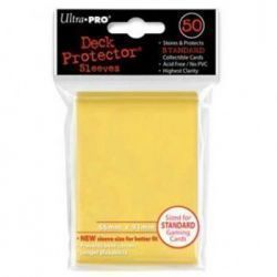 UP - Standard Sleeves - Yellow (50 Sleeves)
