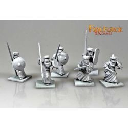 Arab Sudanese Infantry (6 infantry resin figures)