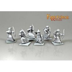 Arab Sudanese Archers (6 infantry resin figures)