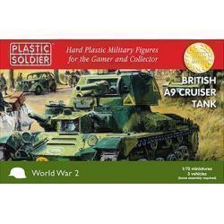 3 x 20mm British A9 Cruiser Tank
