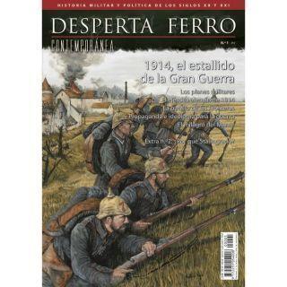 1914, el estallido de la Gran Guerra