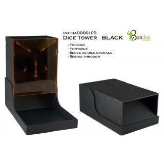 Dice Tower Black -Board games - wargames
