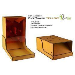 Dice Tower Yellow -Board games - wargames