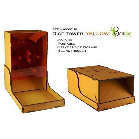 Dice Tower Yellow