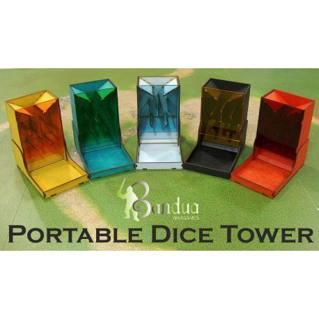 Dice Tower Black