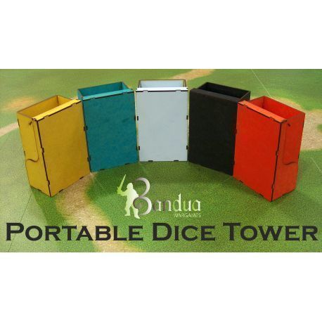 Dice Tower Blue