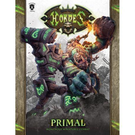 Hordes PRIMAL Hardcover