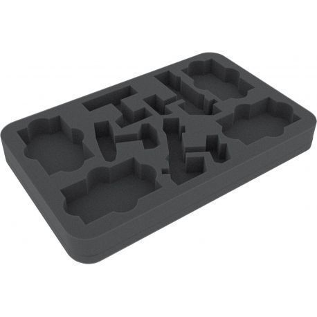 HSBX030BO foam tray for Star Wars Armada CR90 Corvete and Nebulon-B Frigate