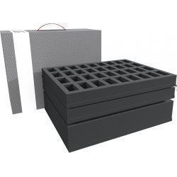 Feldherr Storage Box for 72 miniatures plus tanks or monster