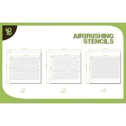 Bandua Stencils: Triangles Pattern 1