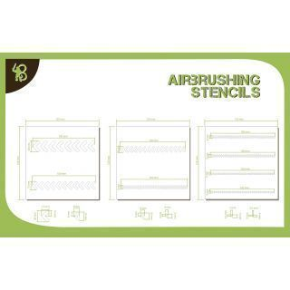 Bandua Stencils: Arrows 2