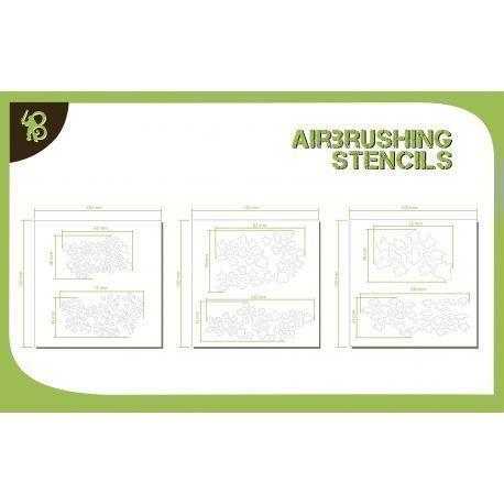 Bandua Stencils: Cammo Pattern 1