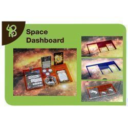 Space Dashboard Rebels compatible con X-Wing