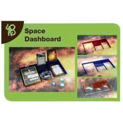 Space Dashboard MERCS compatible with X-Wing