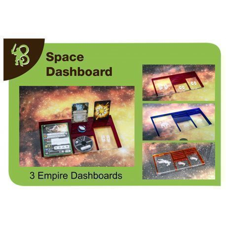 Space Dashboards Pack Empire compatible with X-Wing