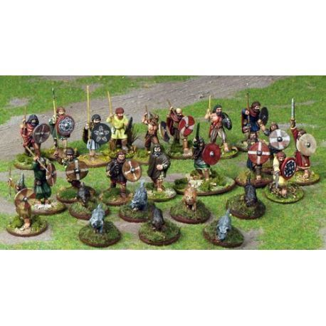Irish Warband Starter (4 points)