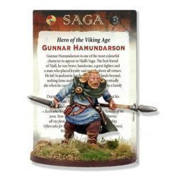 Gunnar Hamundarson (inc Rules Card)