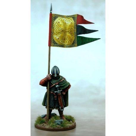 Anglo Danish War Banner & Bearer