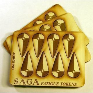 Fatigue Markers - Shields (Kite) (10)