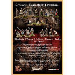 SAGA Civilians - Peasants & Townsfolk