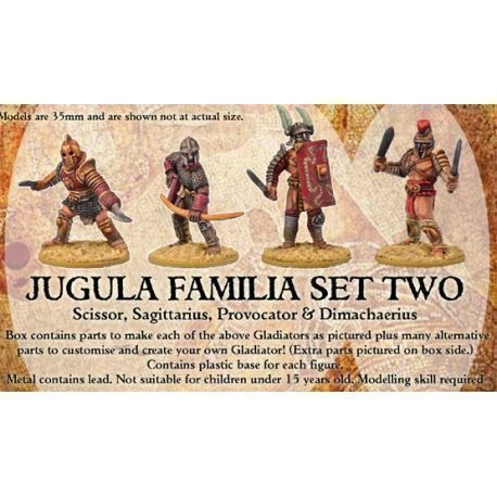 JUGULA Gladiators - FAMILIA 2