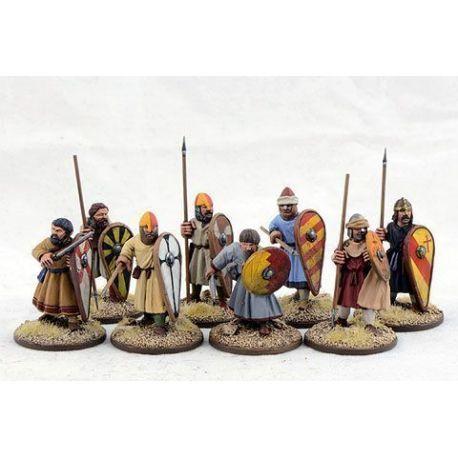 Spanish Warriors on Foot