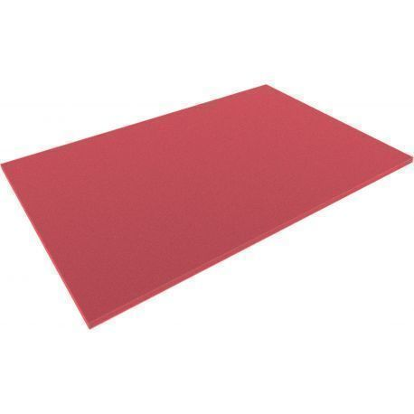 DS010Bred 550 mm x 345 mm x 10 mm colored foam for Shadowboard red