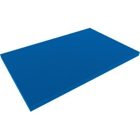 DS020Bblue 550 mm x 345 mm x 20 mm colored foam for Shadowboard blue