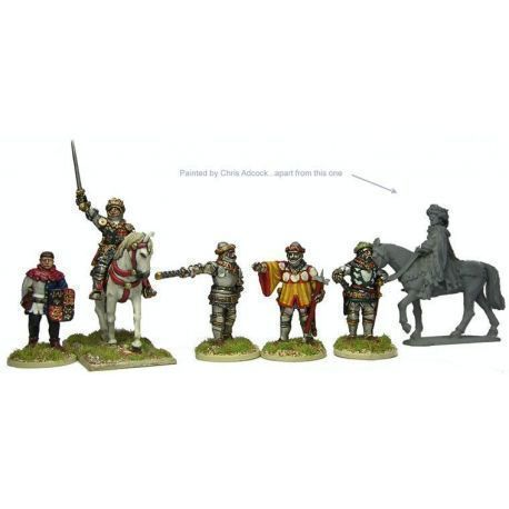 Henry V, Mounted, and Command