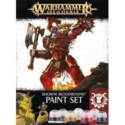 Khorne Bloodbound Paint Set