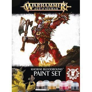 EASY TO BUILD: KHORNE BLOODBOUND PNT SET