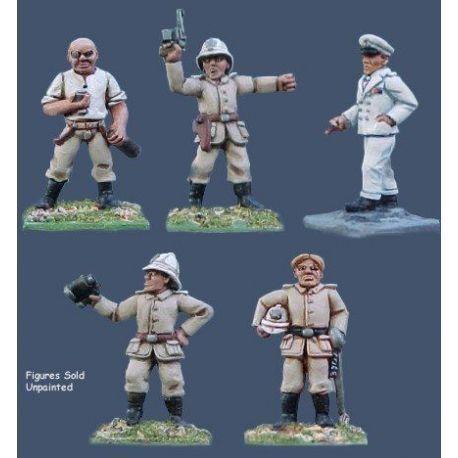 German Seebataillon Officers