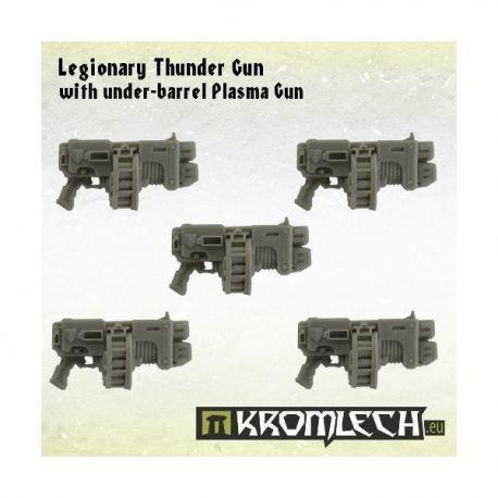 LEGIONARY THUNDER GUN WITH UNDER-BARREL PLASMA GUN