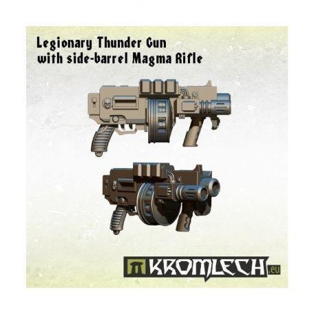 LEGIONARY THUNDER GUN WITH SIDE-BARREL MAGMA RIFLE
