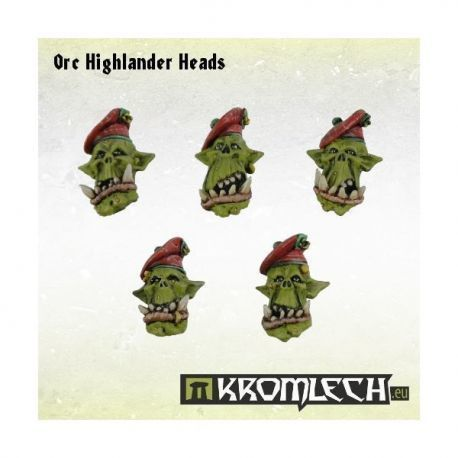 ORC HIGHLANER HEADS