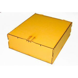 Trading Card Big Box - Yellow ( Lgc Games , Juegos de Mesa , Magic )