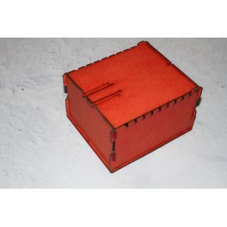 Trading Card Box - Red ( Lgc Games , Board Games , Magic )