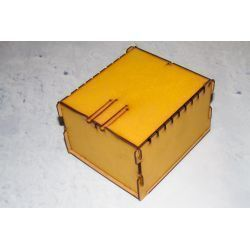 Trading Card Box - Yellow