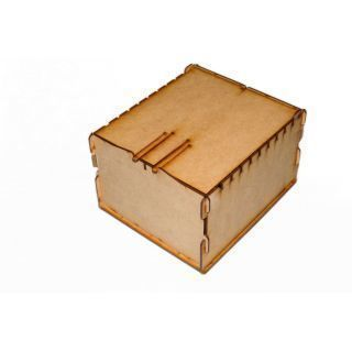Trading Card Box - Wood ( Lgc Games , Juegos de Mesa , Magic )