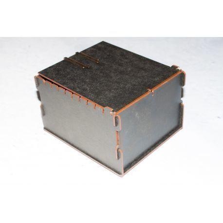 Trading Card Box - Black
