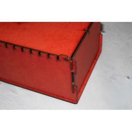 Trading Card Box - Red