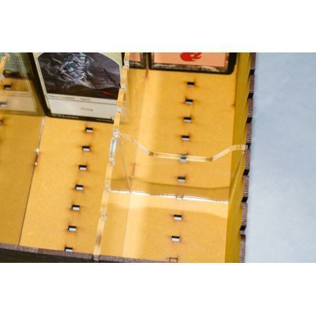 Trading Card Big Box - Yellow