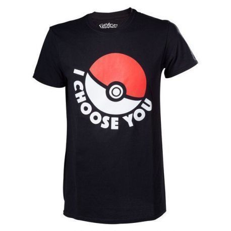 CAMISETA POKEMON CHOOSE S